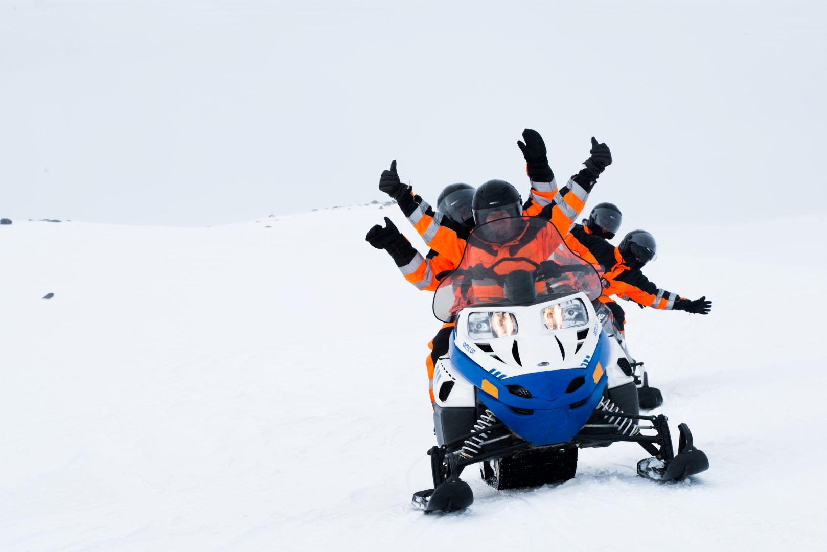 Snowmobile Adventure Tour Photo 4